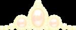 ティアラ風の飾り イエロー