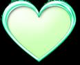 メタルのハート グリーン
