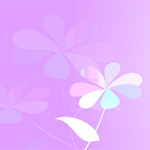 紫陽花のイラスト ヘッダー ピンク