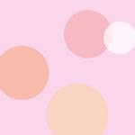 お洒落なヘッダー ピンク