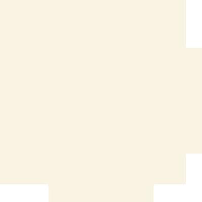 おしゃれな花柄の円形レース ナチュラル