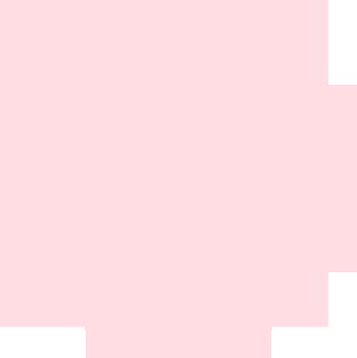 お洒落な花柄の円形レース レッド